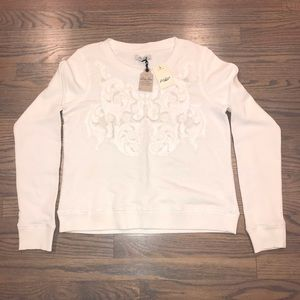 Lucky Lotus Knit Sweater Lucky Brand